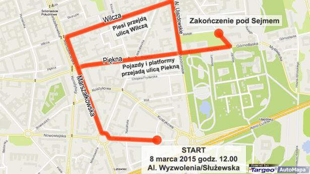 Manifa przejdzie przez stolicę 8 marca tvnwarszawa.pl