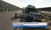 Pięć osób rannych <br />w wypadku na A2