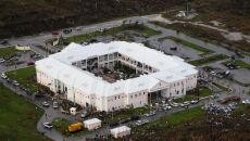 Bahamy po przejściu huraganu Dorian (PAP/EPA/LPhot Paul Halliwell / BRITISH MINISTRY OF DEFENCE/HANDOUT)