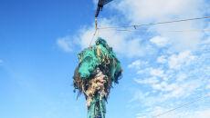 W oceanach pływa dużo starych sieci rybackich (The Ocean Cleanup)