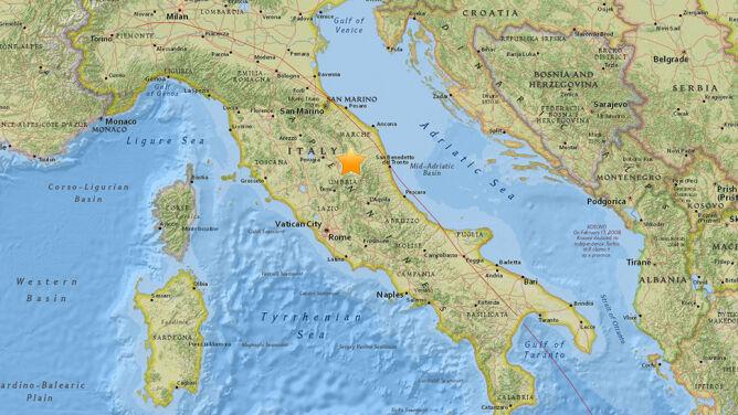 Kolejne trzęsienie ziemi w środkowych Włoszech