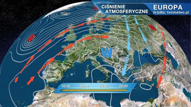 Wyż Xia rządzi pogodą w Polsce