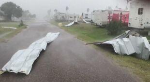 Skutki huraganu Hanna w Teksasie