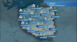 Prognoza pogody na noc 08/09.05