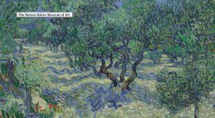 Na obrazie Van Gogha utkwił konik polny